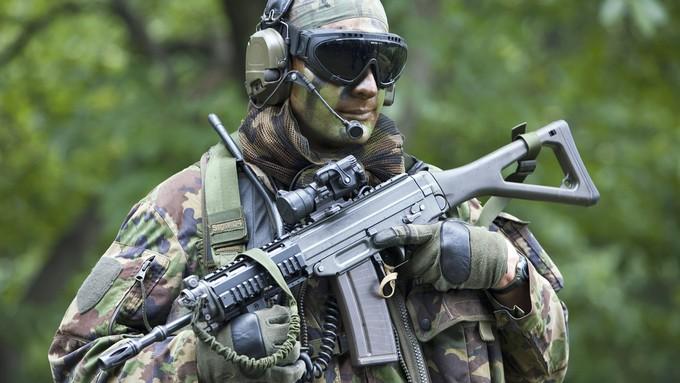 Оружие в Швейцарии