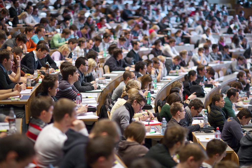 Большая лекционная аудитория. Базельский университет
