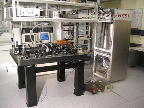 Самые точные атомные часы «Primärfrequenznormal FOCS-1»