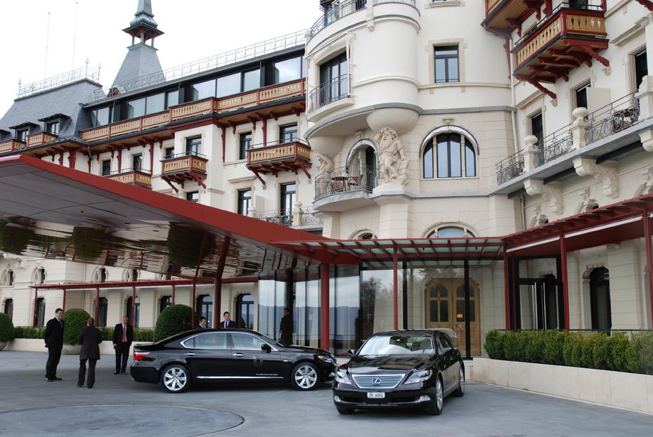 Знаменитый отель The Dolder Grand в Цюрихе