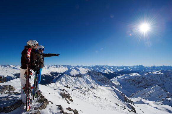 Давос - рай для горнолыжников и сноубордистов