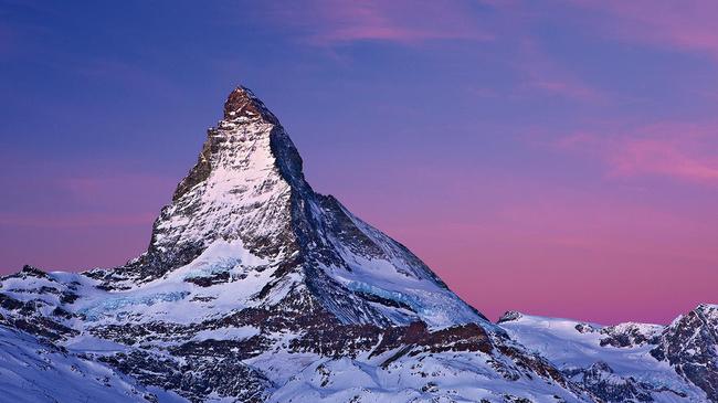гора Маттерхорн. Швейцария