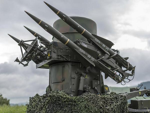 Ракетный комплекс. Экспорт Швейцарии