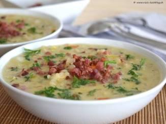 ячменный суп из кантона Граубюнден