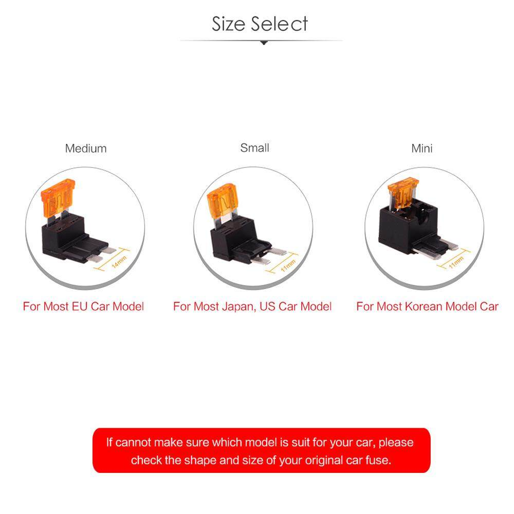 medium resolution of small size by hitcar car vehicle fuse box holder adapter cable tap with 5amp fuse circuit