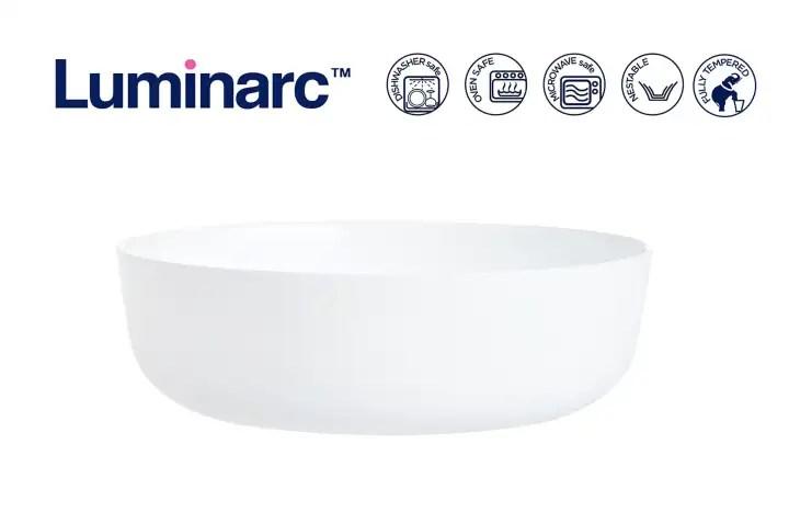 luminarc 30cm smart cuisine diwali round baking dish serving dish