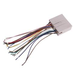 miracle shining new car stereo radio wiring harness aduio wire kit for ford hyundai lincoln lazada ph [ 1024 x 1024 Pixel ]