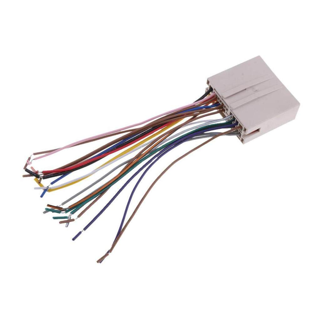 medium resolution of miracle shining new car stereo radio wiring harness aduio wire kit for ford hyundai lincoln lazada ph