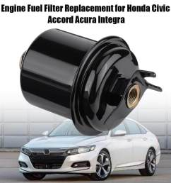 auto engine fuel filter replacement for honda civic accord acura integra 16010 st5 931 lazada ph [ 1000 x 1000 Pixel ]