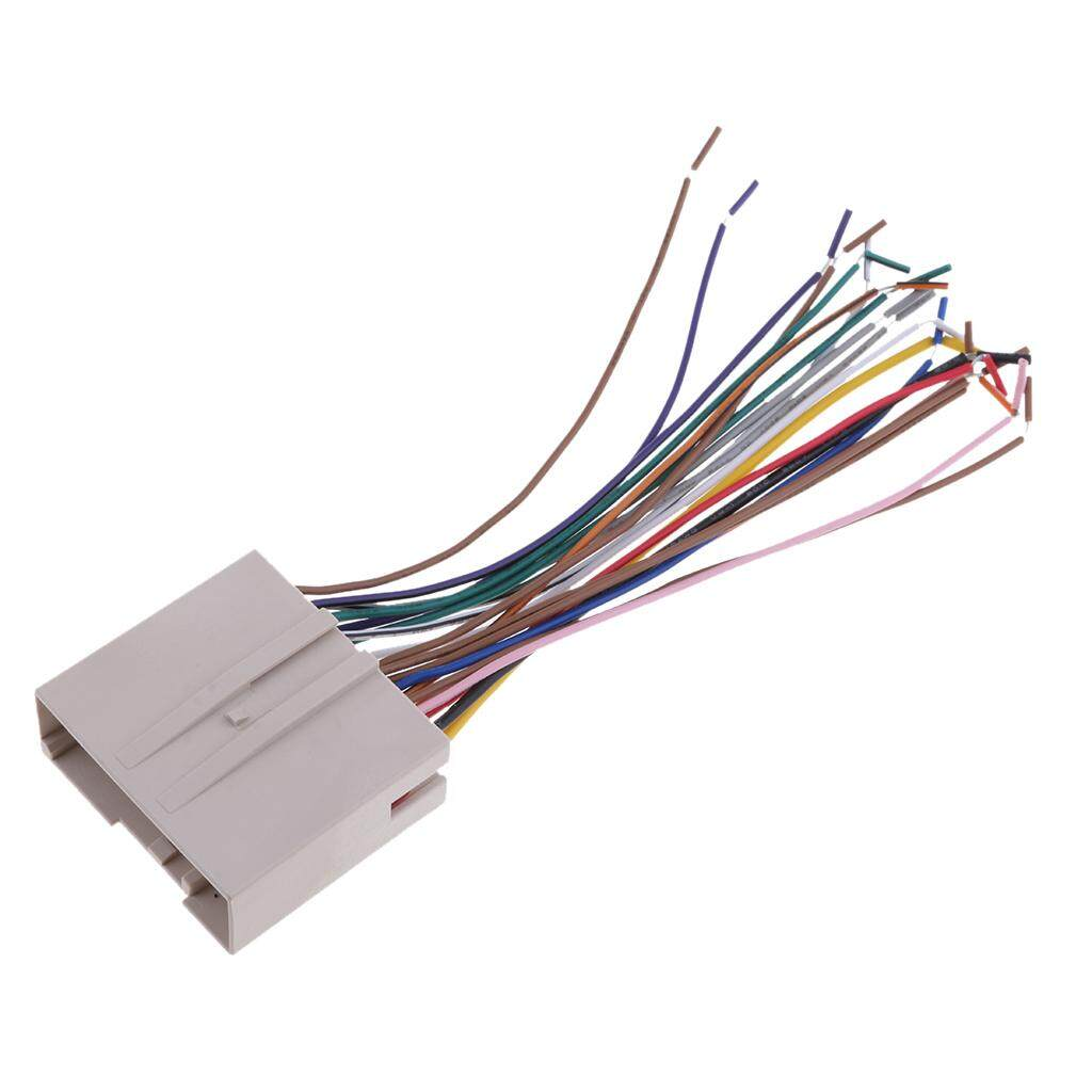 hight resolution of product details of miracle shining new car stereo radio wiring harness aduio wire kit for ford hyundai lincoln