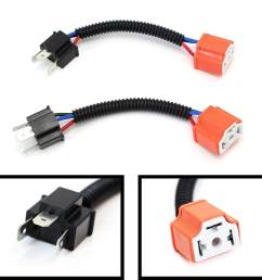 product details of h4 high quality ceramic wiring harness sockets car lamp adapter cable specification h4 ceramic head adapter cable package 2pcs intl [ 1500 x 1500 Pixel ]