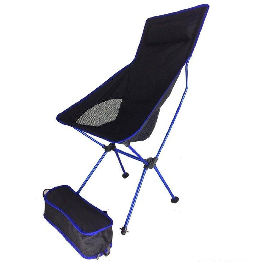 Collapsible Chair Lumiparty Portable Collapsible Chair Fishing Camping Bbq Stool Folding Extended Hiking Seat Ultralight Furniture