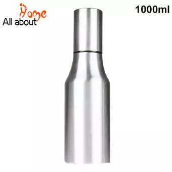 oil dispenser kitchen best sink material 1000ml stainless steel olive for measure cooking bottle