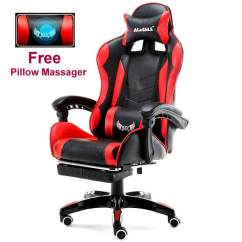 Zeus Thunder Ultimate Gaming Systems Chair Wrought Iron Table And Chairs Video Game For Sale Room Prices Brands Free Massager Waist Pillow Racing Style Adjustable Executive Office