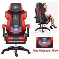 Zeus Thunder Ultimate Gaming Systems Chair Wedding Covers Pembrokeshire Video Game Chairs For Sale Room Prices Brands Free Pillow Massager Luxury Office Racing Style Adjustable Home
