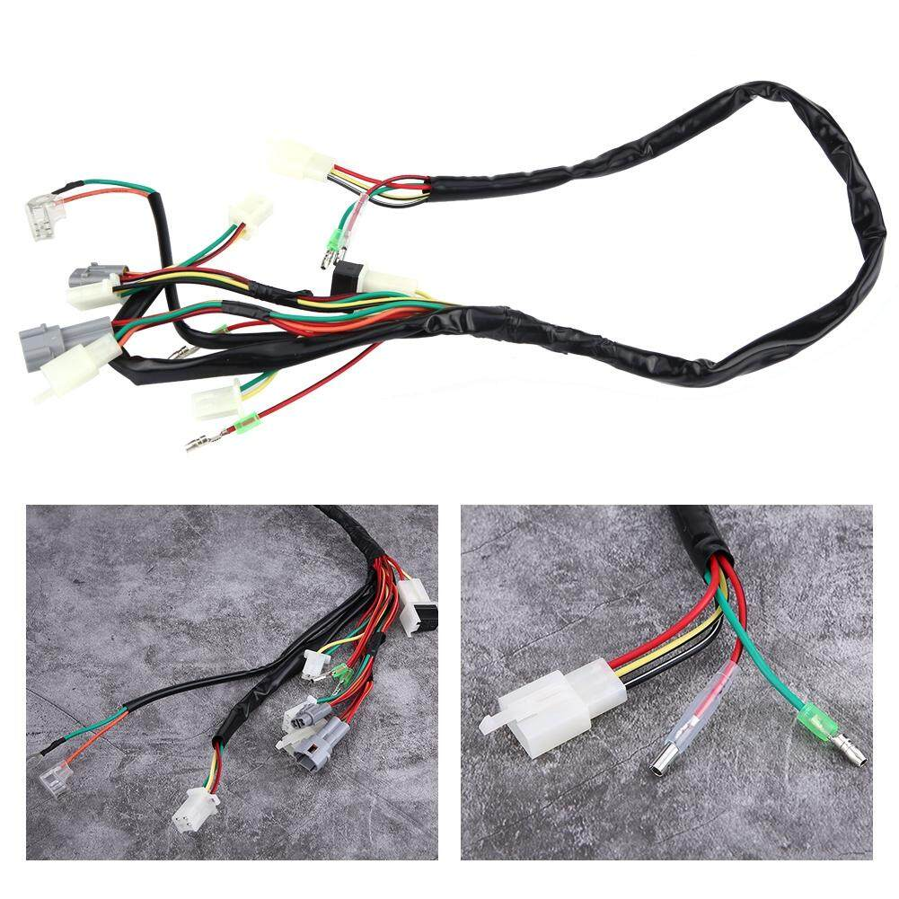 hight resolution of motorcycle replacement wire wiring harness assembly for yamaha pw50