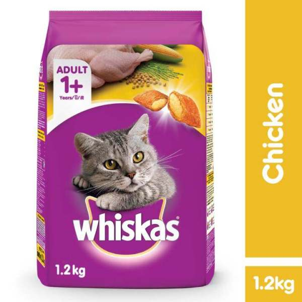 WHISKAS Chicken 12KG Buy sell online Cat Dry Food with