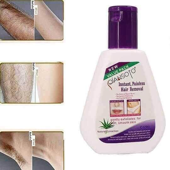 Hair Removal Nature Extraction Hot Selling Krim Buang Bulu Qiansoto