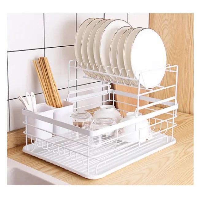 ikea style nordic shirley 2 tier dish rack
