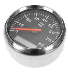 product details of kus boat tachometer marine tacho meter gauge lcd hourmeter 12v 24v 8000 rpm 85mm intl convenient installation  [ 1200 x 1200 Pixel ]