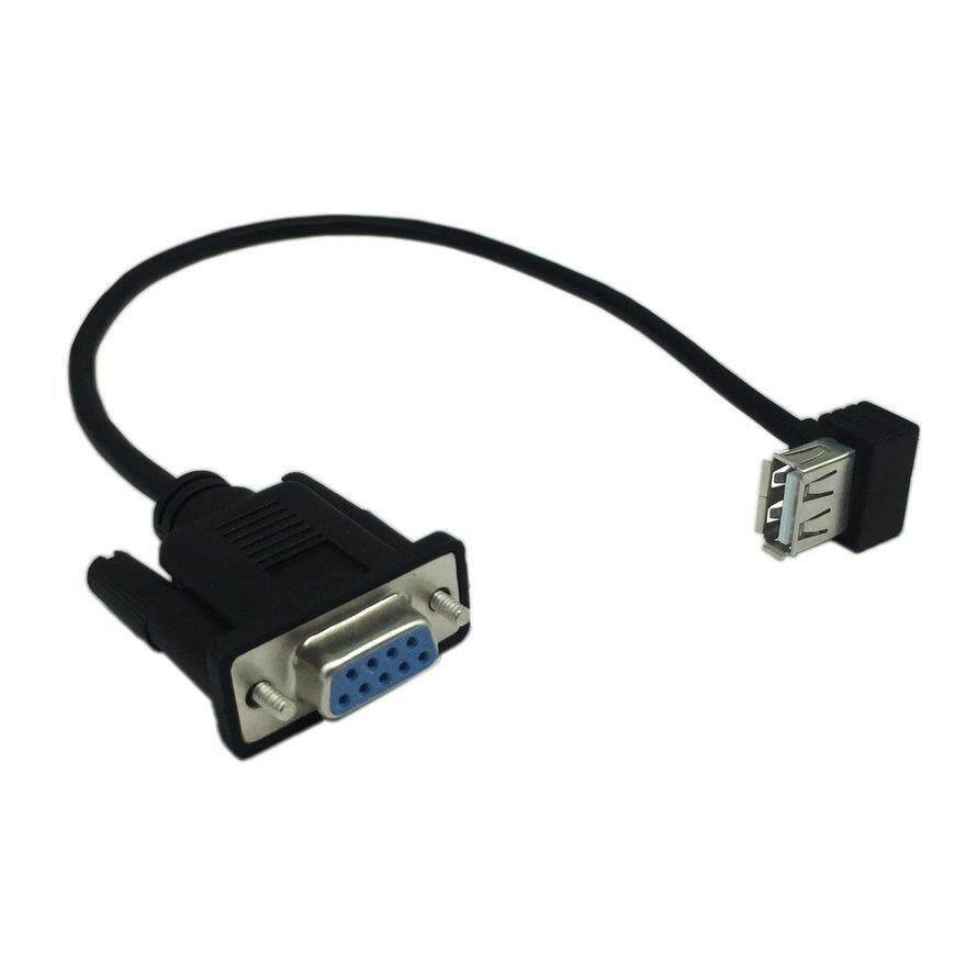 Wllw USB 2.0 FEMALE untuk RS232 DB9 Wanita Serial Kabel Adaptor Converter dengan FTDI
