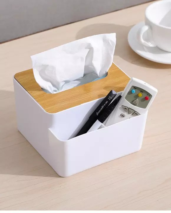 Kotak Tissu : kotak, tissu, Nordic, Minimalist, Remote, Tissue, Premium, Kotak, Modern, Storage, Lazada