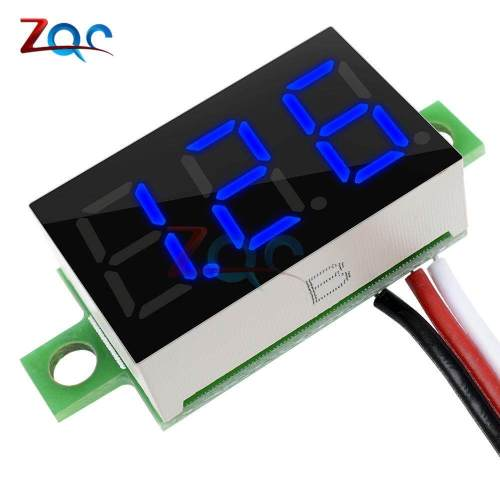 small resolution of product details of 0 36 inch 0 36 dc 0 30v super mini led digital car voltmeter voltage volt panel meter battery monitor 3 digital 3 wires colors