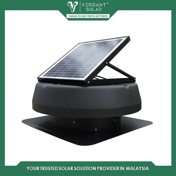vs1750 verdant star solar roof ventilation fan attic fan exhaust fan 30w