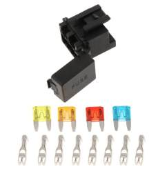 miracle shining automotive 4 way fuse holder box 1 relay socket for truck suv [ 1024 x 1024 Pixel ]