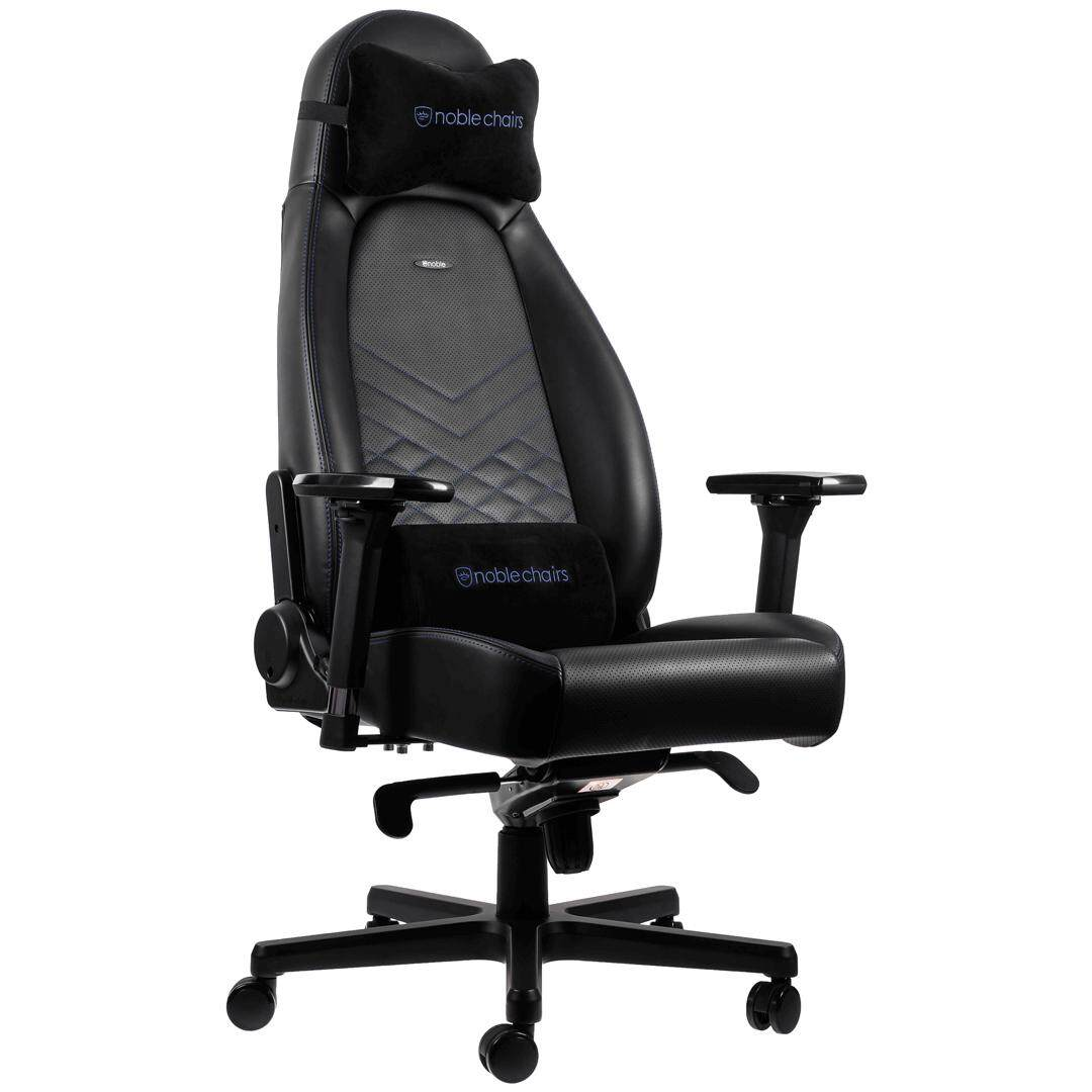 Gaming Chair For Big Guys Noblechairs Icon Gaming Chair Black Blue