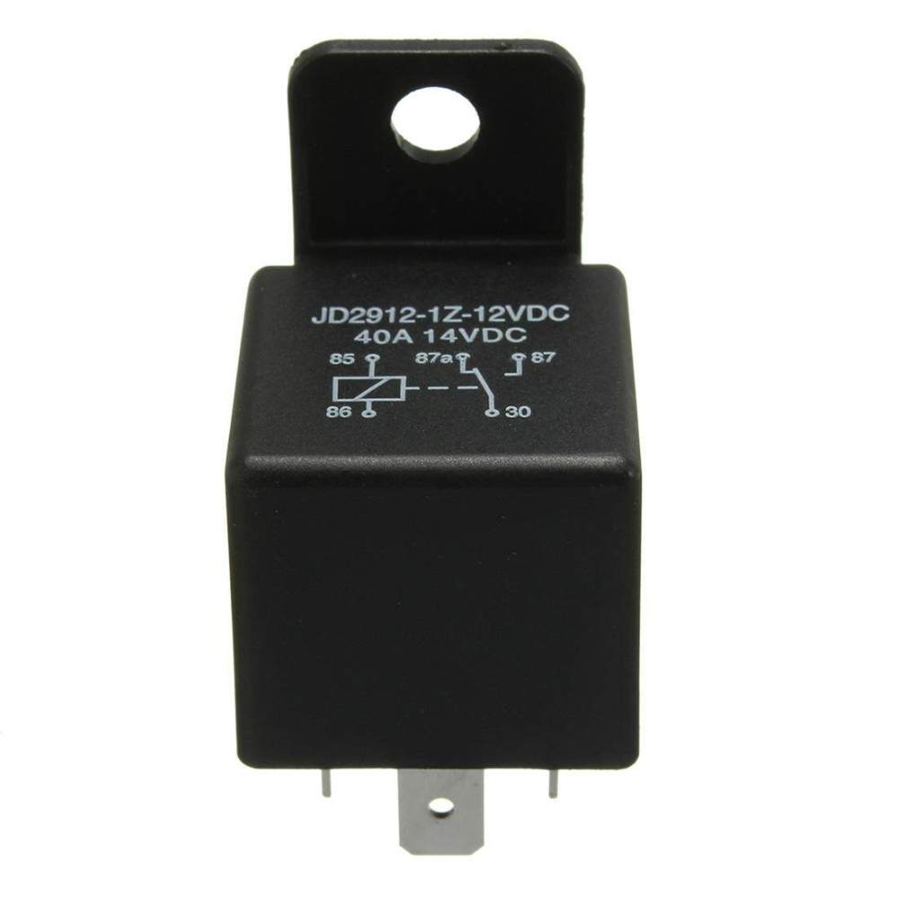 medium resolution of 12v volt 40a amp 5 pin changeover relay automotive car motorcycle boat bike intl