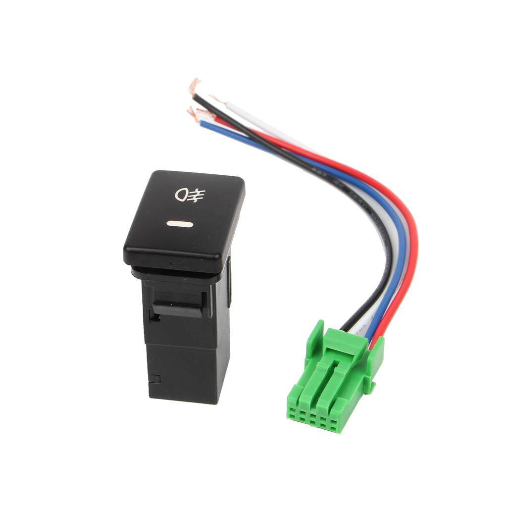 hight resolution of dc12v front fog light push switch 4 wire button intl