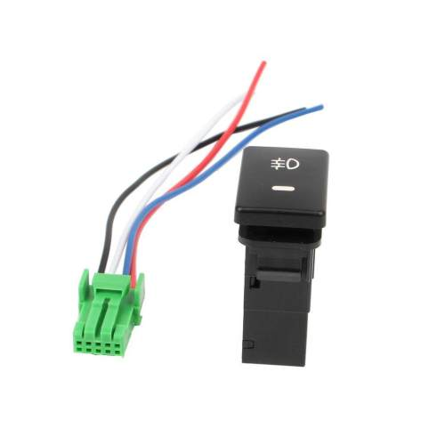 small resolution of dc12v rear fog light push switch 4 wire button intl