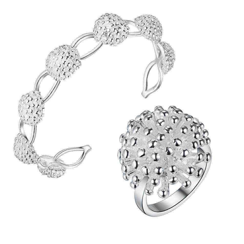 【BLN-Fashion】Fashion Jewelry Silver Jewelry Low Price Two Pieces Of Fireworks