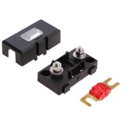 miracle shining inline ans fuse holder box block circuit breaker 32v 50a rv car marine  [ 1024 x 1024 Pixel ]