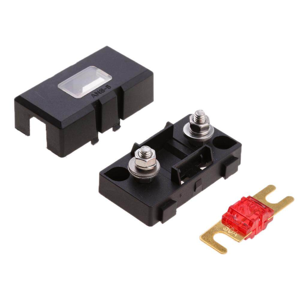 hight resolution of miracle shining inline ans fuse holder box block circuit breaker 32v 50a rv car marine