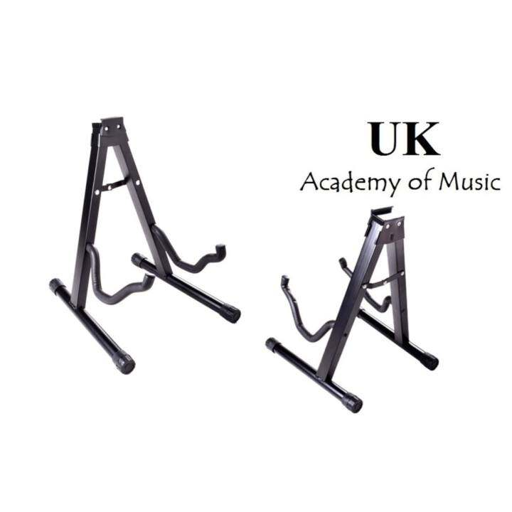 New Guitar Stand A-Frame Design Heavy Duty Padded Folding