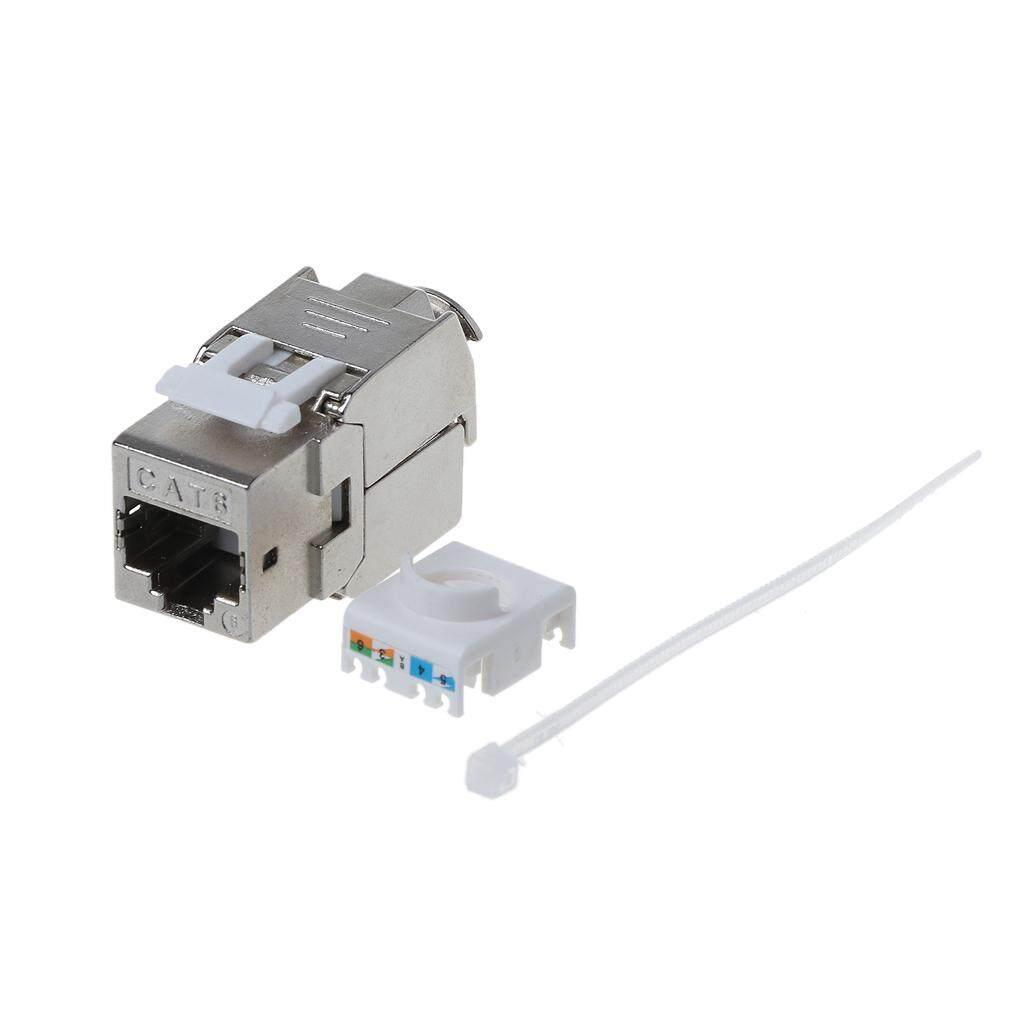 hight resolution of 1pc rj45 keystone cat6 cat6a shielded ftp zinc alloy module keystone jack network connector adapter lazada ph