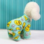Cherful655 Print Dog Clothes Home Service Cotton Jumpsuits Chihuahua Yorkie Puppy Clothing For Dog Rompers Lazada