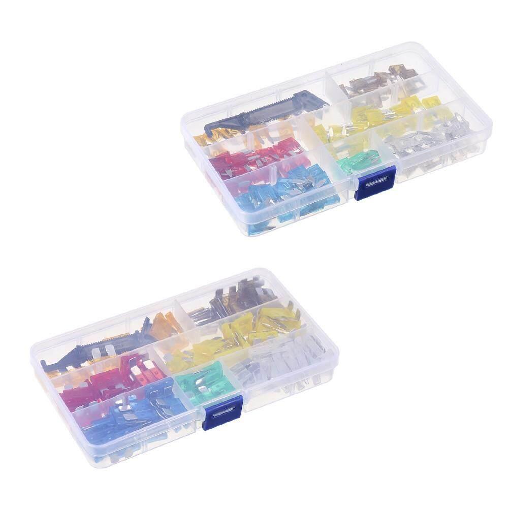medium resolution of 240pcs mini middle size fuse blade holder box car vehicle circuit fuses box block medium