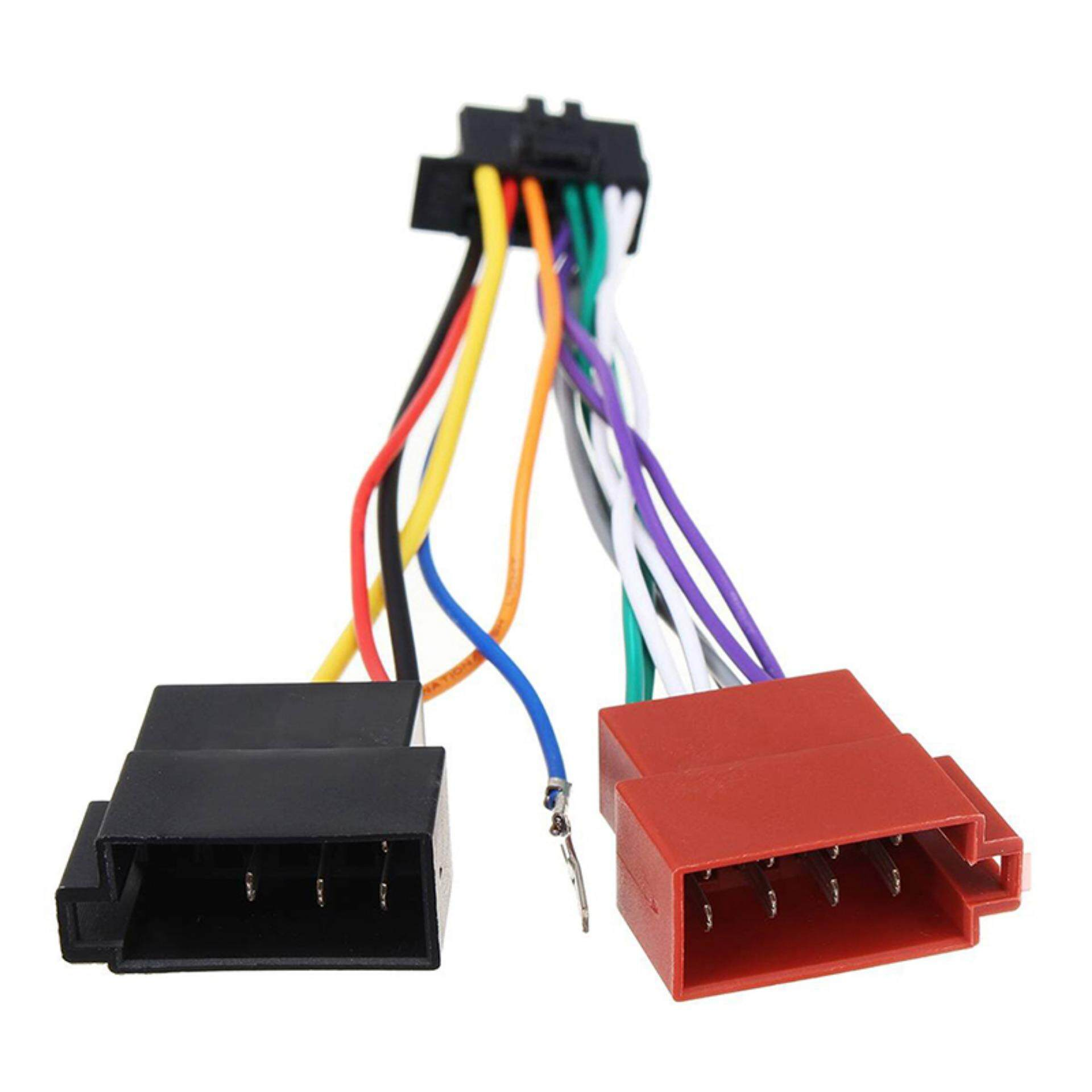 hight resolution of female warrior car stereo radio iso wiring harness connector cable 16 pin for pioneer 2003