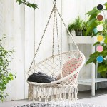 Hammock Chair Swing Hanging Rope Seat Net Chair Tree Outdoor Porch Patio Indoor Lazada