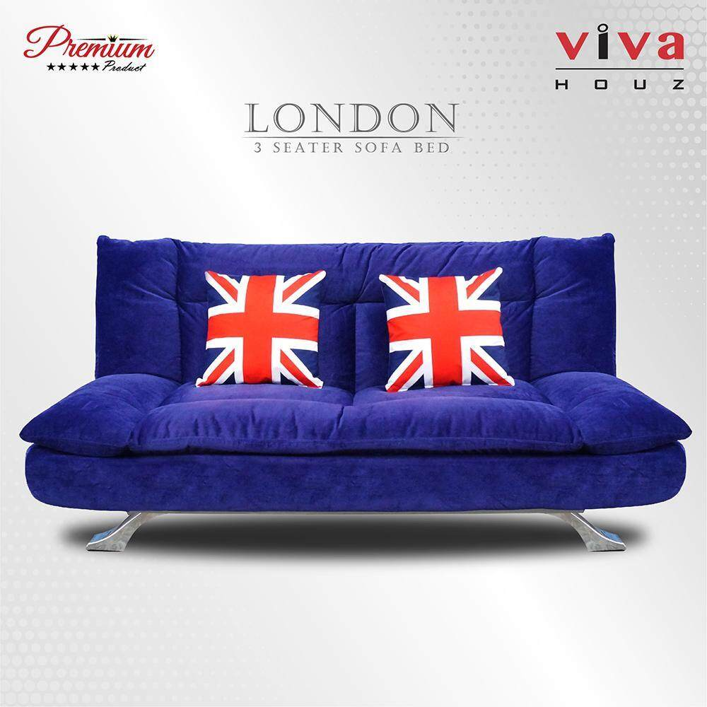 foldable sofa chair malaysia desk too low home sofas buy at best price in www lazada year end sale viva houz london 3 seater bed full navy