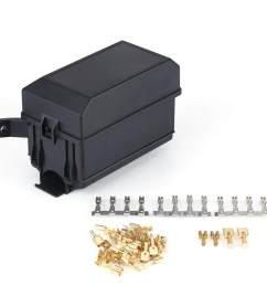nihua 6 way fuse relay holder box socket for auto car suv off  [ 1001 x 1001 Pixel ]