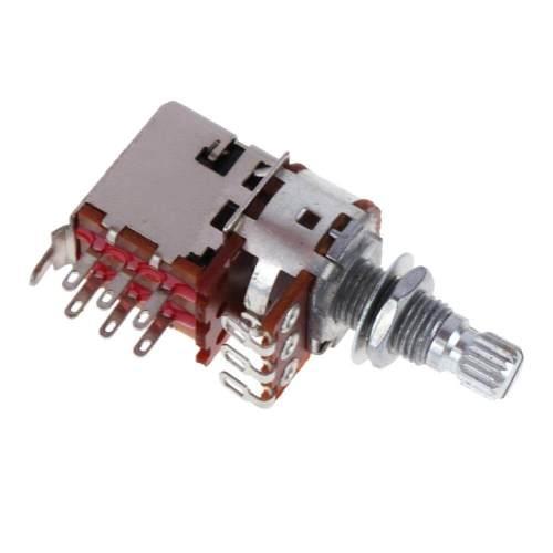 small resolution of electronic guitar bass a500k b500k a250k b250k push pull guitar control pot potentiometer