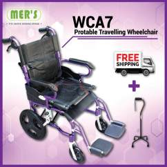 Wheelchair Yang Bagus Comfy Chairs For Gaming Wheelchairs The Best Price In Malaysia Lightweight Foldable Suitable Shower Use Pvc Seat 8kg Pu Tyre Portable Traveling Wheel Chair Small