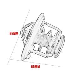 pkpns thermostat for honda accord civic cr v odyssey 19301 paa306 direct replacement [ 900 x 900 Pixel ]