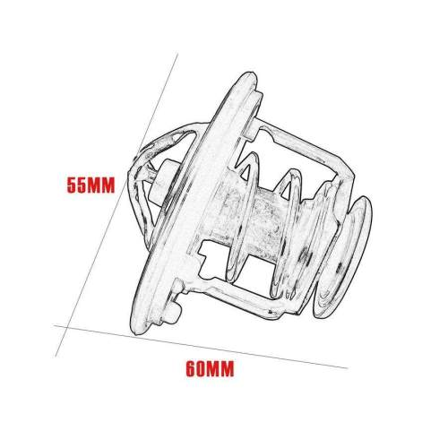 small resolution of pkpns thermostat for honda accord civic cr v odyssey 19301 paa306 direct replacement