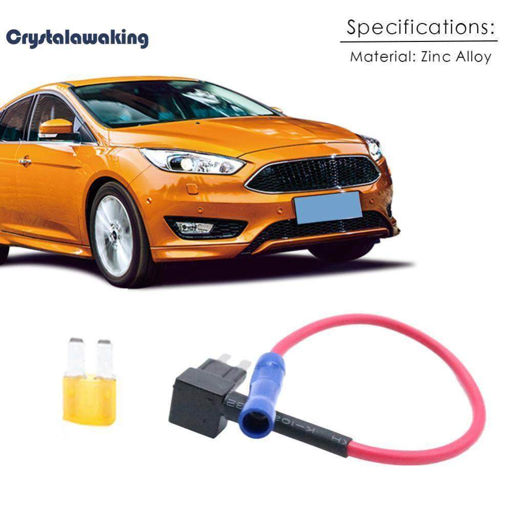 medium resolution of crystalawaking car add a circuit fuse tap adapter kit blade fuse holder 5a micro2