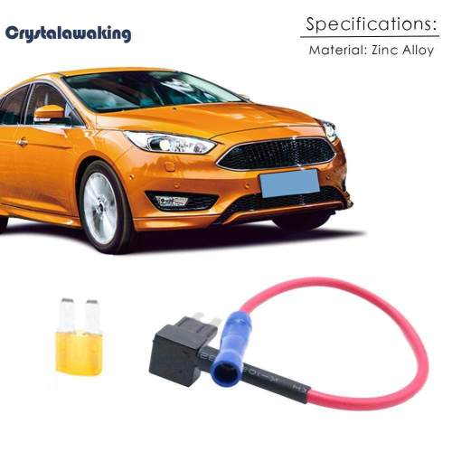 small resolution of crystalawaking car add a circuit fuse tap adapter kit blade fuse holder 5a micro2